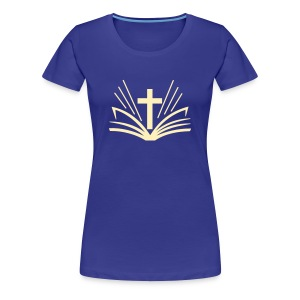 Womens Bible/Cross - Women's Premium T-Shirt
