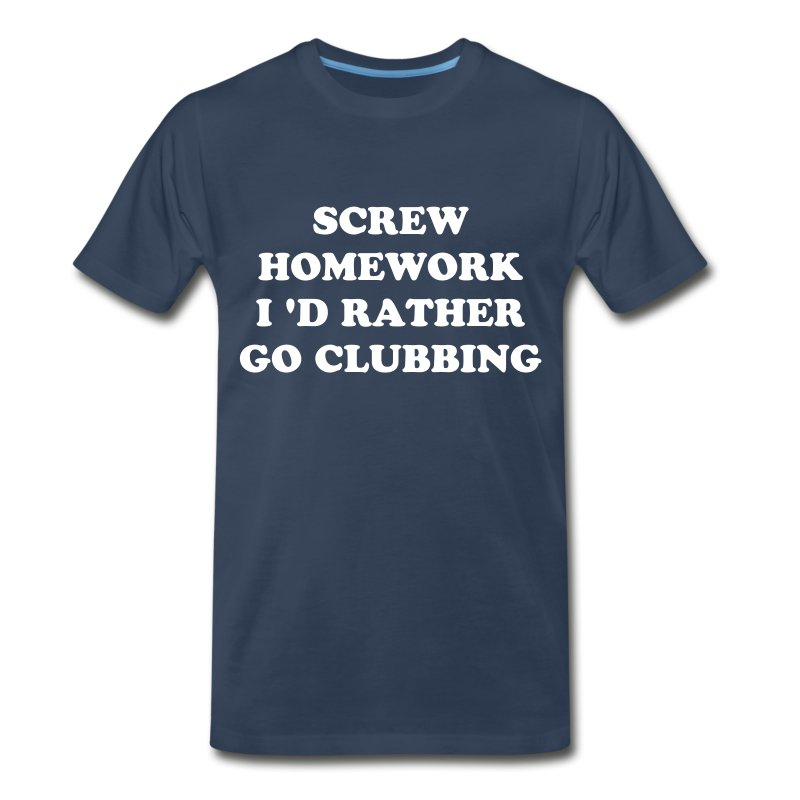 screw you hw!! - Men's Premium T-Shirt