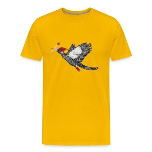 Still Life With Woodpecker - Men's Premium T-Shirt