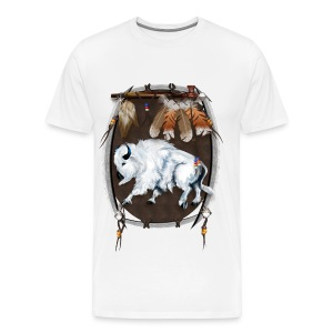 Native/Buffalo - Men's Premium T-Shirt