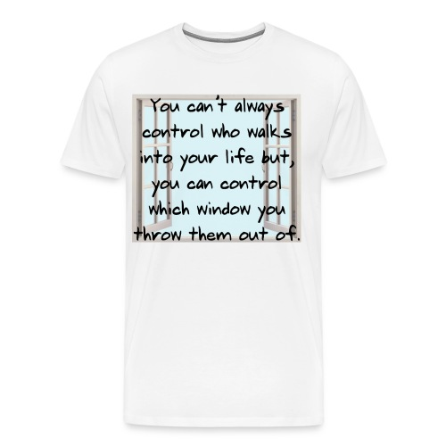 throwem out the window - Men's Premium T-Shirt