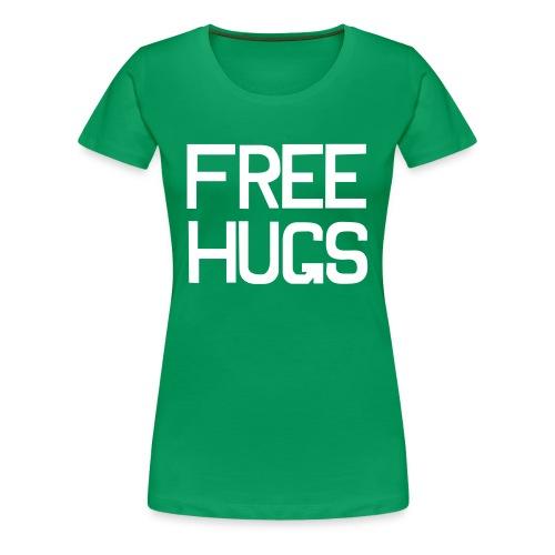 Free hugs Tshirt - Girl - Women's Premium T-Shirt