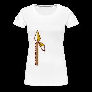 T-Shirts ~ Women's Premium T-Shirt ~ Womens Burgundy Warpath Tee