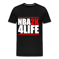 T-Shirts ~ Men's Premium T-Shirt ~ NBA2K4LIFE T-Shirt