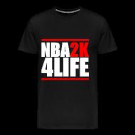 T-Shirts ~ Men's Premium T-Shirt ~ NBA2K4LIFE T-Shirt