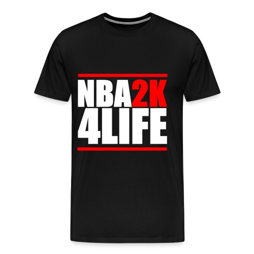 NBA2K4LIFE T-Shirt - Men's Premium T-Shirt