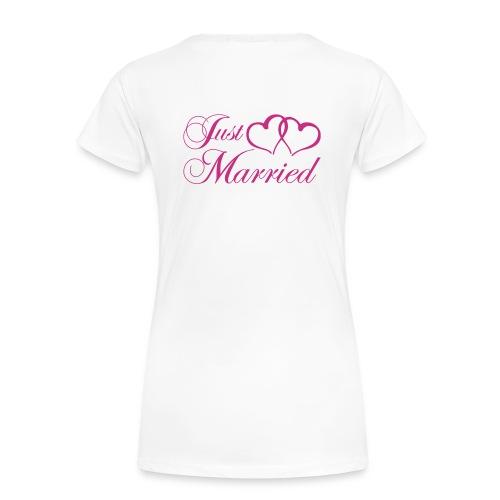 T shirt Just married - Women's Premium T-Shirt