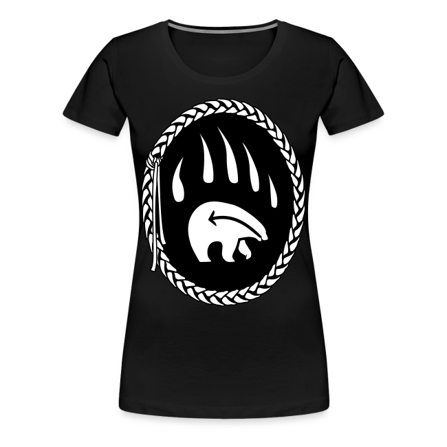 Tribal Claw Art Women's Shirts Plus Size