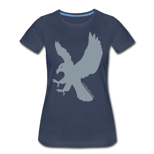 Women's Plus Sized Ravenclaw Tee - Women's Premium T-Shirt