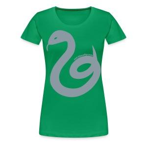 Women's Plus Sized Slytherin Tee - Women's Premium T-Shirt