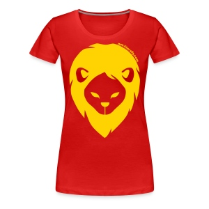 Women's Plus Sized Gryffindor Tee - Women's Premium T-Shirt