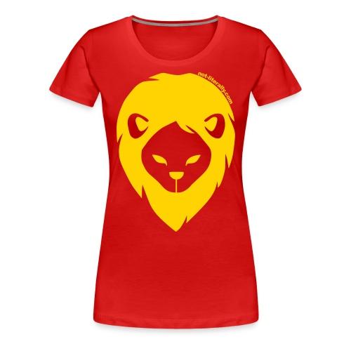 Women's Plus Sized Gryffindor Tee - Women's Premium T-Shirt
