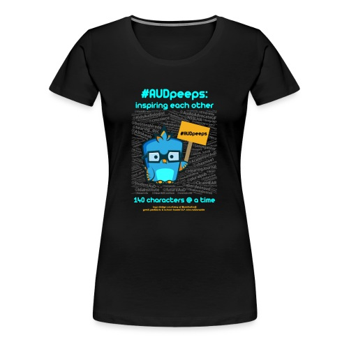 #AUDpeeps Black Women's T - Women's Premium T-Shirt