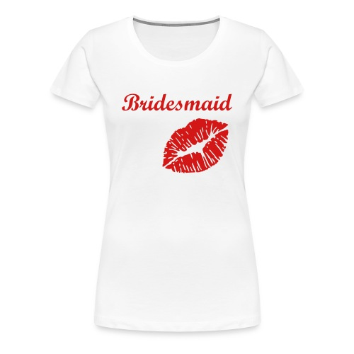 Bridal Party Collection (Bridesmaid) - Women's Premium T-Shirt