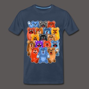 BEAR CROWD 3 - Men's Premium T-Shirt