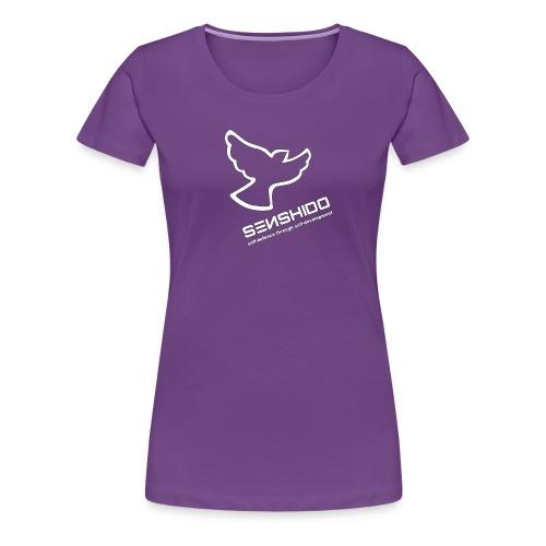 Senshido Dove Logo Shirt - Women - Women's Premium T-Shirt