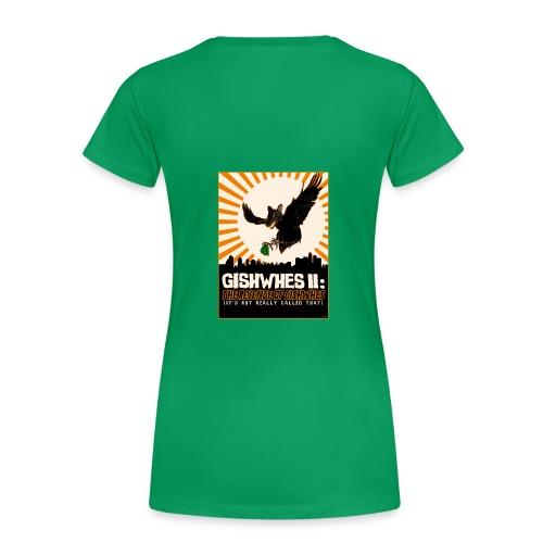 GISHWHES Survivor [DESIGN BY ADRIA] - Women's Premium T-Shirt