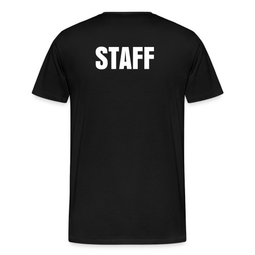 Staff Shirt - Men's Premium T-Shirt