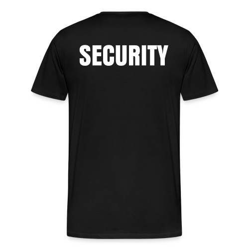 Security Shirt - Men's Premium T-Shirt