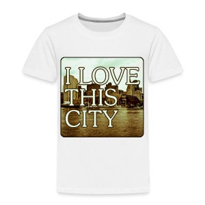 I Love This City - Toddler Premium T-Shirt