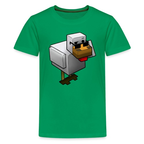Spy-chicken - Kids' Premium T-Shirt