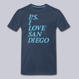 P.S. I Love San Diego - Men's Premium T-Shirt