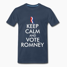 Keep Calm and Vote Romney T-Shirts