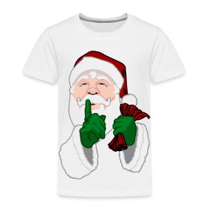 Santa Clause T-shirts Kid's Christmas Santa Shirts - Toddler Premium T-Shirt
