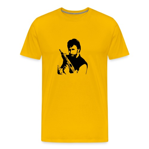 Chuck Norris Kills People - Men's Premium T-Shirt