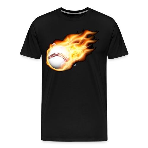 flames - Men's Premium T-Shirt