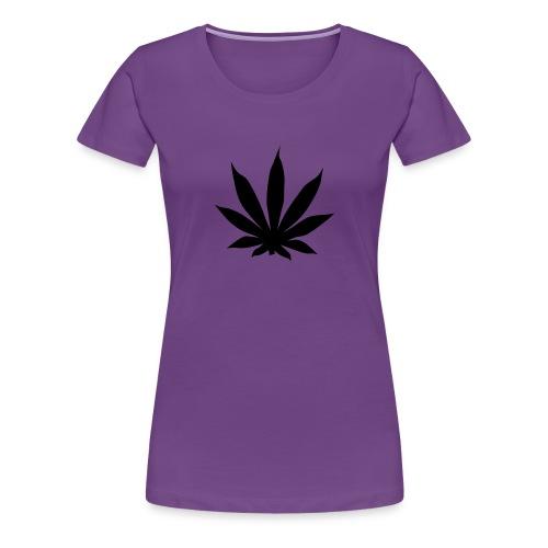 Pot leaf T-Shirt  - Women's Premium T-Shirt