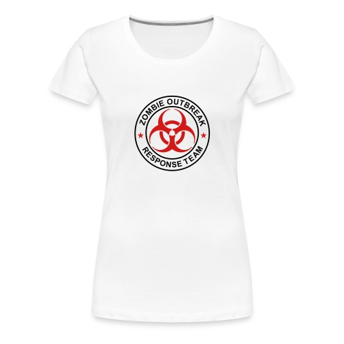 Womens Zombie Outbreak Response Team Volunteer - Women's Premium T-Shirt