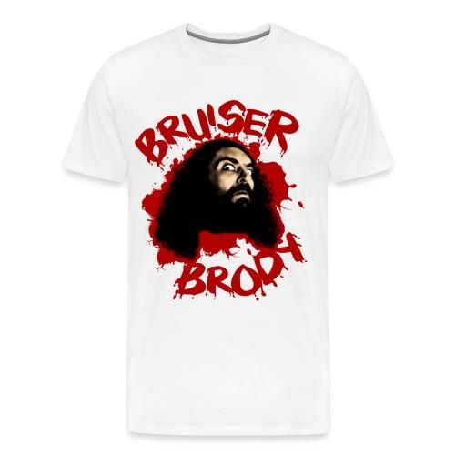 Brody#1 White - Men's Premium T-Shirt