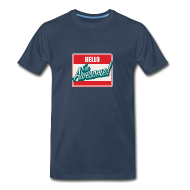 T-Shirts ~ Men's Premium T-Shirt ~ Hello I'm Awesome!