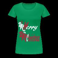 Women's T-Shirts ~ Women's Premium T-Shirt ~ Merry Christmas