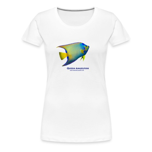 Queen Angelfish - Women's Premium T-Shirt