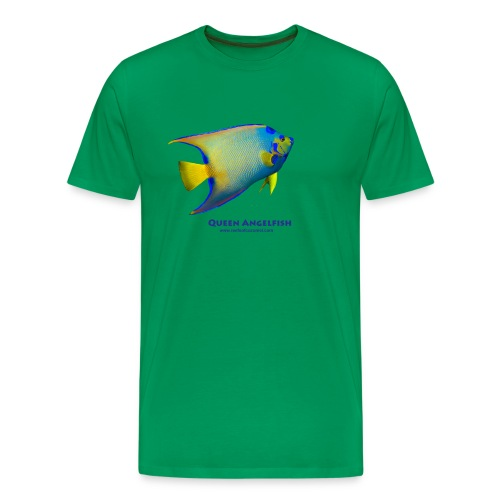 Queen Angelfish - Men's Premium T-Shirt