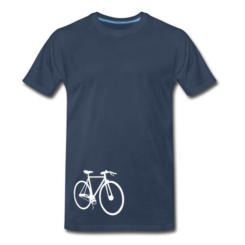 White Fixie bike - Men's Premium T-Shirt