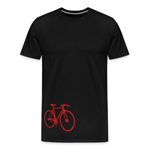 Red fixie - Men's Premium T-Shirt