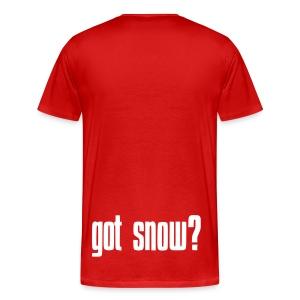 got snow? Long T - Men's Premium T-Shirt