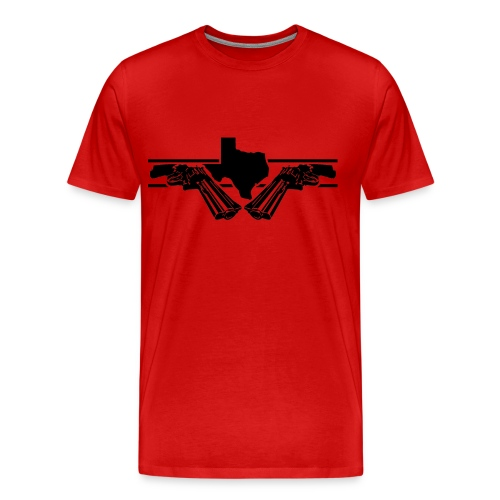 Texas Guns - Men's Premium T-Shirt