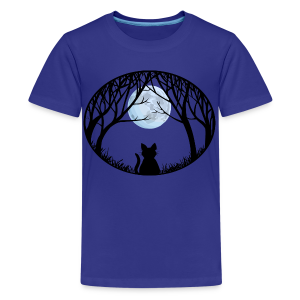 Fat Cat Shirts Kid's Cat T-shirt - Kids' Premium T-Shirt
