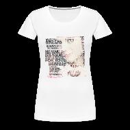 Women's T-Shirts ~ Women's Premium T-Shirt ~ Tiffany Typography