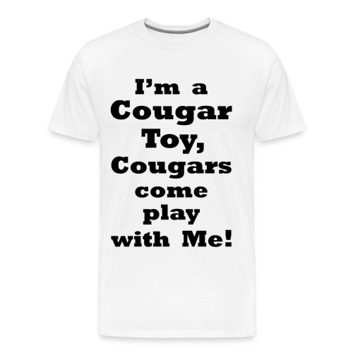 Cougar Toy    BLA229 - Men's Premium T-Shirt