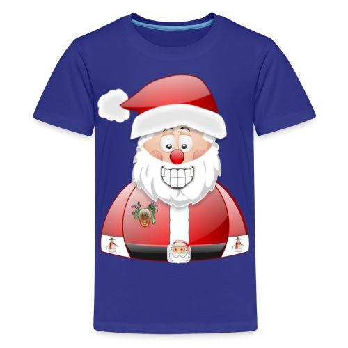 Santa naughty but nice List - Kids' Premium T-Shirt