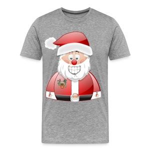 Santa naughty but nice List - Men's Premium T-Shirt