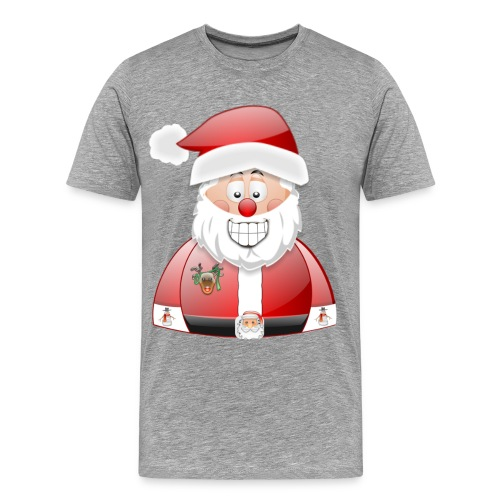 Santa naughty but nice List - Men's Premium T-Shirt