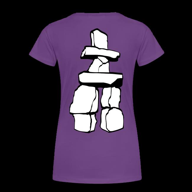 Vancouver Souvenir Ladies Shirts Inukshuk Plus Size T-shirt