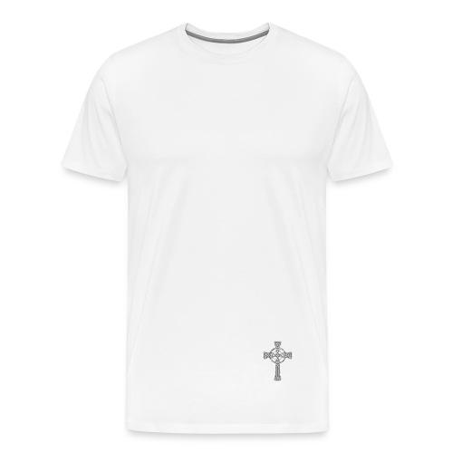 Holistic [NOT A DESIGNER] White Men's T-shirt - Men's Premium T-Shirt