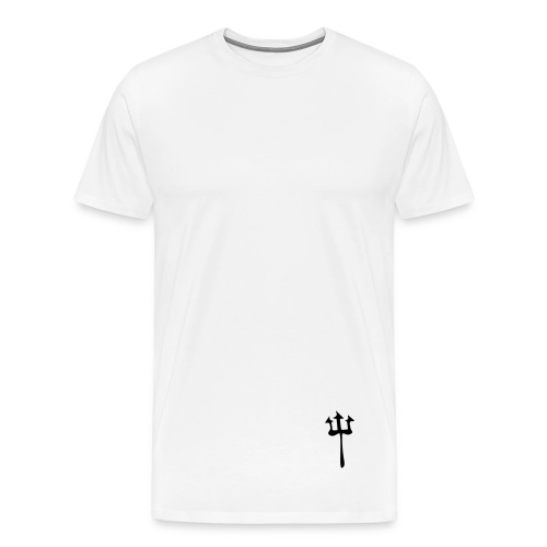 Devilistic [NOT A DESIGNER] White Men's T-shirt - Men's Premium T-Shirt